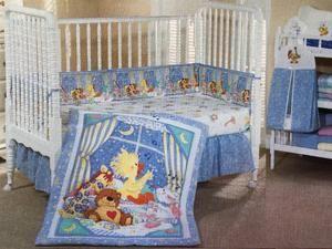 Little Suzy S Zoo Witzy S Lullaby Baby Animals Crib Bedding Nursery Set Duck Bear Giraffe Bunny In 2020 Blue Crib Bedding Blue Crib Crib Bedding