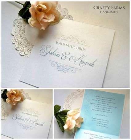 Wedding Invitations Handmade Simple The Knot 59 Ideas Wedding Card Design Simple Wedding Cards Wedding Invitation Card Template