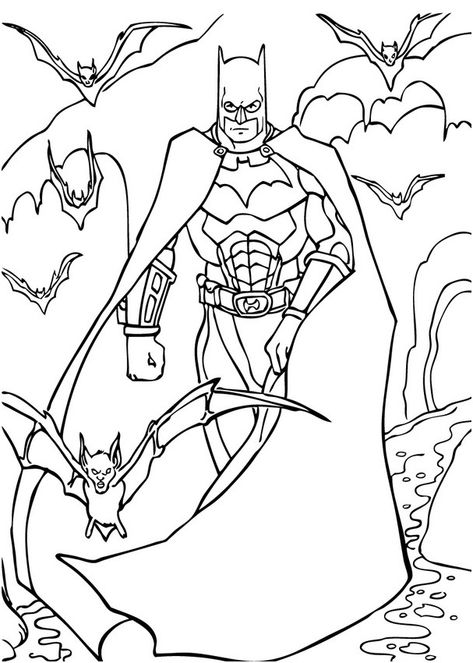 Coloriage Batman A Imprimer 13 Unique Coloriage Batman A