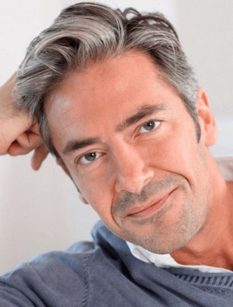 Frisuren Männer 50 Plus Graue Haare Männer Frisur Dicke