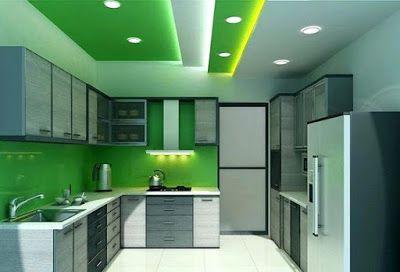 Modern Pop False Ceiling Designs For Kitchen Interior With Lighting Pop Design F Kitchen Ceiling Design Ceiling Design Living Room Bedroom False Ceiling Design