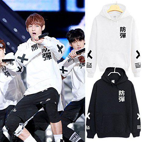 UK Sweatershirt BTS Kpop In Bloom Sweater Unisex Jung Kook Hoodie Bangtan Boys