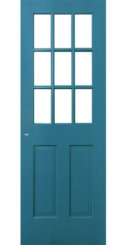 カントリーカラー塗装ドア 2501 ラブラドールブルー 株式会社