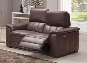 Capucine 2 Seater Sofa With Left Right Recliner Covering Leather Microfiber Or Fabric Not Removable Padding Seat Cushion Arm 2 Seater Sofa Sofa Layout