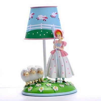 Toy Story Bo Peep Table Lamp Blue Includes Energy Efficient Light Bulb Toy Story Room Blue Lamp Toy Story