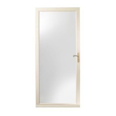Larson 36 In X 96 In Brisa Sandstone Tall Retractable Screen Door 77010981 In 2020 Retractable Screen Retractable Screen Door Screen Door