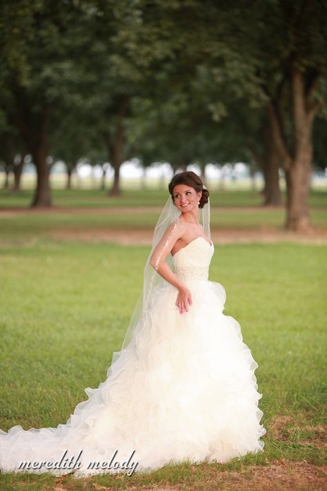 Tara's Pecan Grove Bridal Portraits - Little Rock Wedding Photography