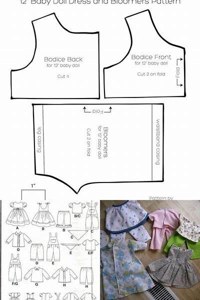 photo regarding American Girl Doll Clothes Patterns Free Printable titled Free of charge Printable 18 Doll Garments Behaviors American Lady - Bing