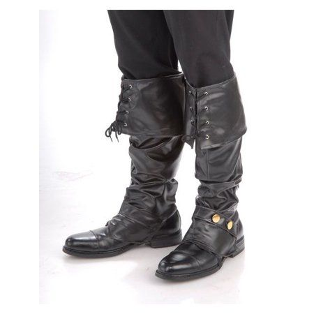 Pirates spent virtually all day on their feet, so comfortable boots were something of a necessity. Luckily, you do not have to hunt down the same for your pirate look, because these Deluxe Pirate Boot Toppers work just as well! Holiday Costumes, Halloween Costumes, Pirate Costumes, Halloween 2013, Ariel Halloween, 1950s Costumes, Pirate Garb, Halloween Forum, Adult Halloween