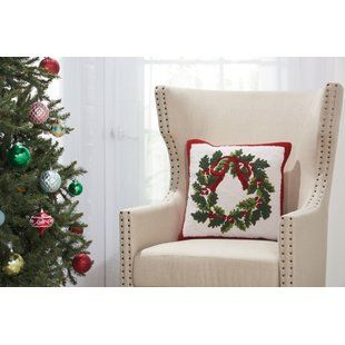 Wayfair Com Online Home Store For Furniture Decor Outdoors More Holiday Throw Pillow Holiday Pillows Square Throw Pillow