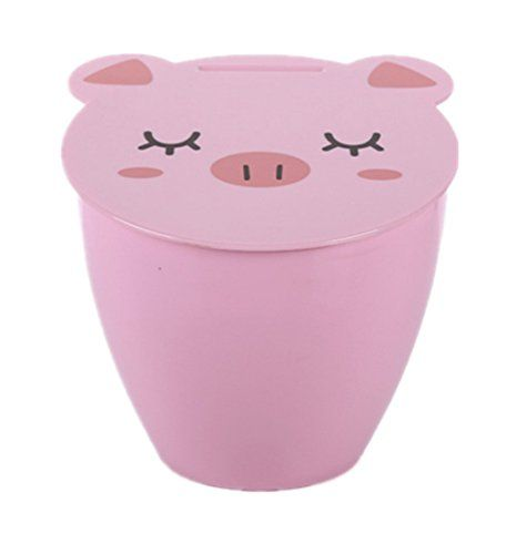 Creative Lovely Desktop Trash Can With Small Table Storage Bin Mini StationeryKL