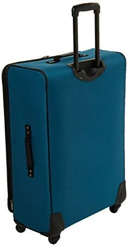 American Tourister At Pops Plus 3 Piece Nested Set Moroccan Blue One Size In 2021 American Tourister Moroccan Blue Luggage