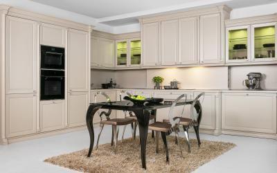 Klasszikus elegancia a konyhában - konyha / étkező ötlet ...