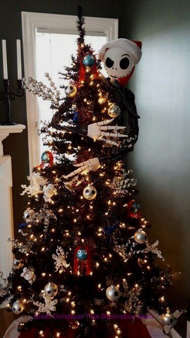 Lovely Christmas Tree Decoration Ideas Xmastreedec Nightmare Before Christmas Tree Nightmare Before Christmas Ornaments Nightmare Before Christmas Decorations
