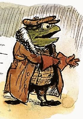 Toad of Toad Hall crosses the Rubicon