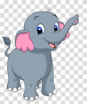 Cartoon Illustration Cute Little Gray Like Transparent Background Png Clipart Baby Elephant Drawing Kitten Cartoon Monkey Illustration