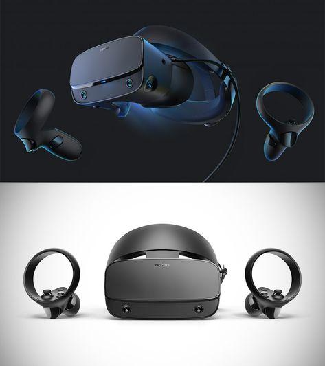 Facebook unveils the Oculus Rift S VR headset...