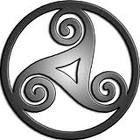 Espiral Celta es uno de los símbolos más universales. Para los celtas, la espiral no tiene ni principio ni fin. Es un continuo cambio evolutivo que representa la vida eterna. Uno de los símbolos más conocidos e importantes para esta cultura.