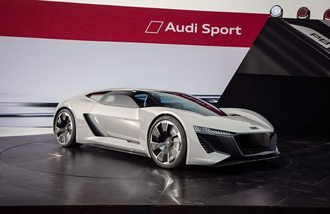 Last Night Audi Unveiled A New Concept The PB ETron The - Monterey audi