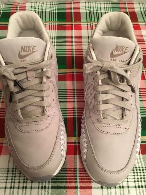 wholesale dealer ab274 e3d84 Nike Air Max 90 Woven Phantom Lt Iron Ore White 833129-005 Men s Sz 10 VGC   Nike  RunningCrossTraining