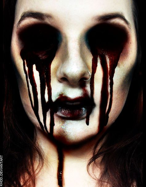 Bloody Mary by Khdd.deviantart.com on @deviantART | Makeup ...