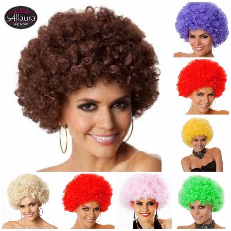 Party Afros 1970s / 1980s Costume Afro Wig
