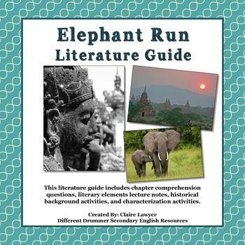 Elephant Run Literature Guide In 2021 Literature Comprehension Questions Figurative Language