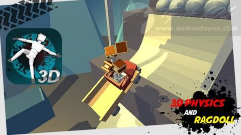 Stickman Turbo Dismounting 3d V1 1 6 Mod Apk Money Games