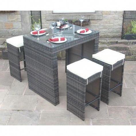 Find Out Additional Details On Bar Tables Look Into Our Site Outdoor Garden Furniture Rattan Furniture Set Rattan Garden Furniture