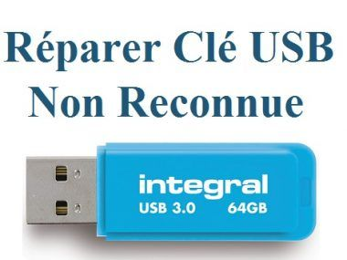 Reparer Une Cle Usb Non Reconnue Cle Usb Non Detectee En 2020 Cle Usb Usb Reparer