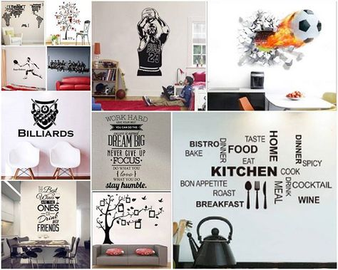 decals Tranform your walls with funky...
