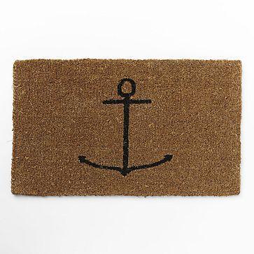 Coir Doormat - Anchor #westelm $30