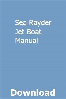 Auto parts & accessories sea rayder n bayliner razz jet boat.