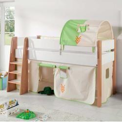 Hammerbacher Anbautisch Orbis Buche Halbrund Hammerbacherhammerbacher Kinder Bett Halbhohes Kinderbett Und Kinderbett