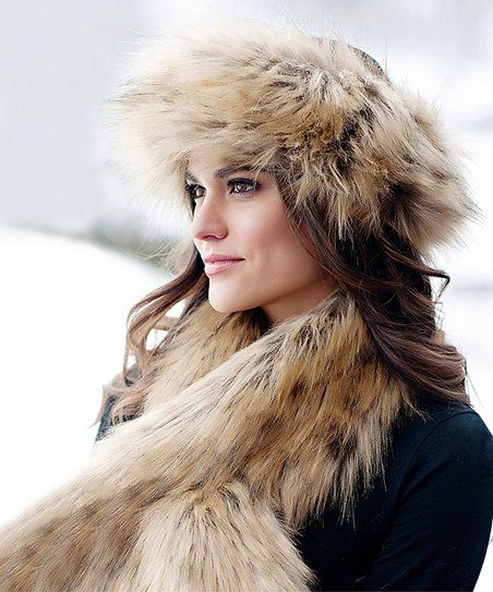 bb1ceebb9 Donna Salyers Fabulous-Faux Furs Tipped Feather Fox Faux Fur Halo ...