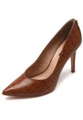 8d35c2953 Ankle Boot Couro Shoestock Salto Grosso Tiras - Preto - Compre Agora |  Zattini | Acessorios | Boots, Shoes e Fashion