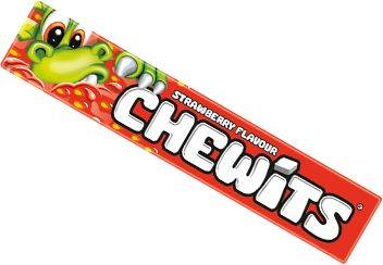 Chewits are a chewy sweet (the clue's in the name!)