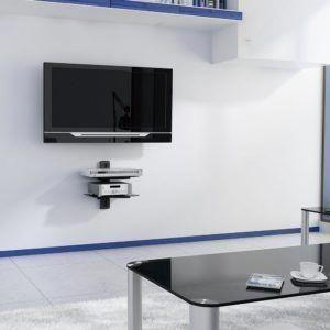 Tv Wall Bracket With Sky Box Shelf