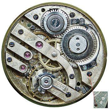 Watch movement identification pocket [ELGIN] Pocket