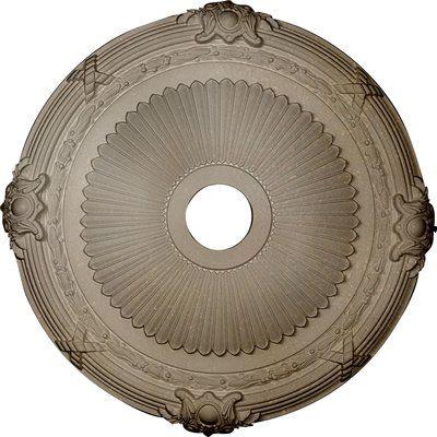 Ekena Millwork Heaton 27 1 2 H X 27 1 2 W X 2 1 4 D Ceiling Medallion Finish Flash Copper Ceiling Medallions Ekena Millwork Ceiling