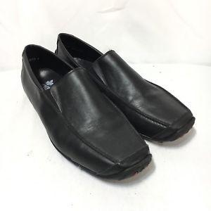 huge discount 7da93 4a0c9 Rieker Antistress Mens 44 US 10.5-11 Black Leather Slip On ...
