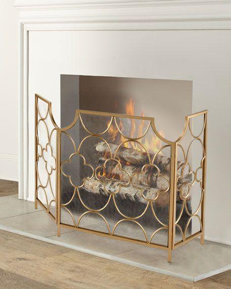 Three Magi Fireplace Screen Fireplace Screens Fireplace Art Deco Fireplace