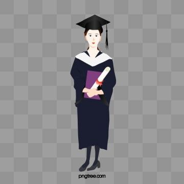 Cartoon Wear Bachelor S Graduation Female Student Vector College Student Graduation Cartoon Png Transparent Clipart Image And Psd File For Free Download Student Clipart Cartoon Bachelor