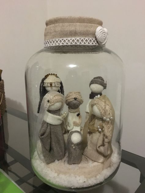 Nativity Jar