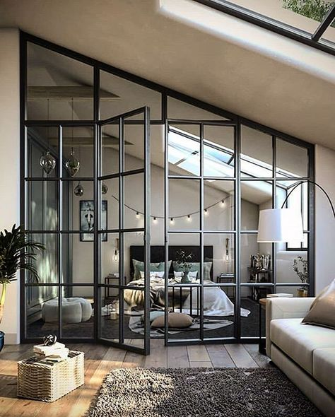 1 Zimmer Wohnung Beds: Smart Buying Tips You might lik Dream Home Design, Modern House Design, Modern Interior Design, Interior Architecture, Interior Design Inspiration, Interior Design Videos, Interior Design Magazine, Cool House Designs, Luxury Interior
