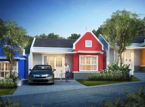 pin di tampak depan rumah minimalis modern terbaru