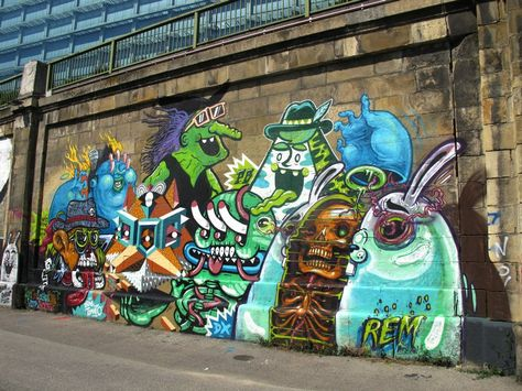 #Grafitti #Streetart #TheWeird
