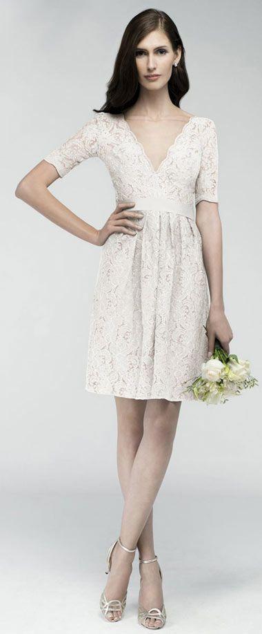 5456588775 robe blanche avec manche pour anniversaire mariage | Robe dentelle ...