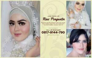 Paket Promo Jasa Rias Make Up Pengantin Pengantin Berhijab Glamour Pengantin