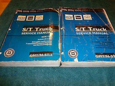Details About 1996 Chevrolet S10 Blazer Gmc S15 Shop Manual Set Original Gm Dealer Books In 2020 New Chevrolet Trucks S10 Blazer Gmc